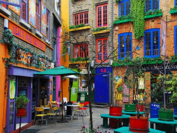 Neal's Yard Salad Bar, Covent Garden, London