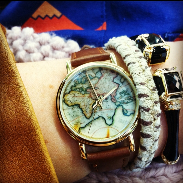 Urban Outfitters World Map Watch.World Map Watch Urban Outfitters
