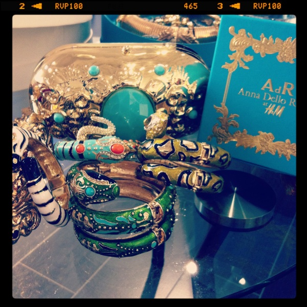 H&M Accessories Collection by Anna Dello Russo, Fashion Shower