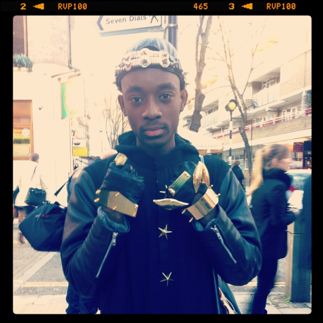 'King of Gold' London Streetstyle