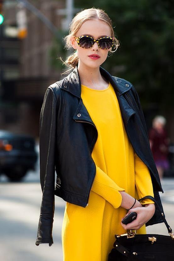 Yellow Winter Dress