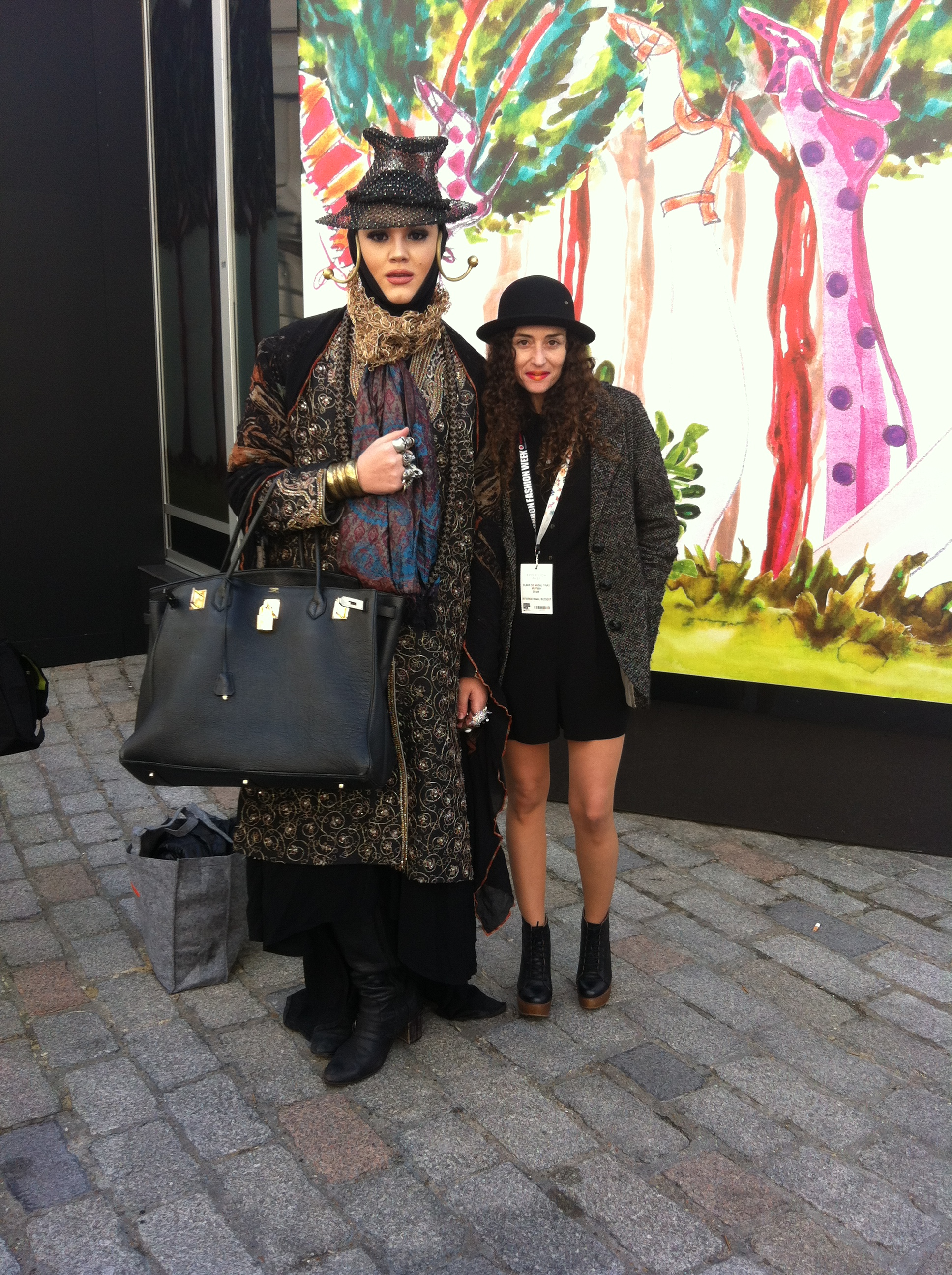 Daniel Lismore and muymia at London Fashion Week AW13