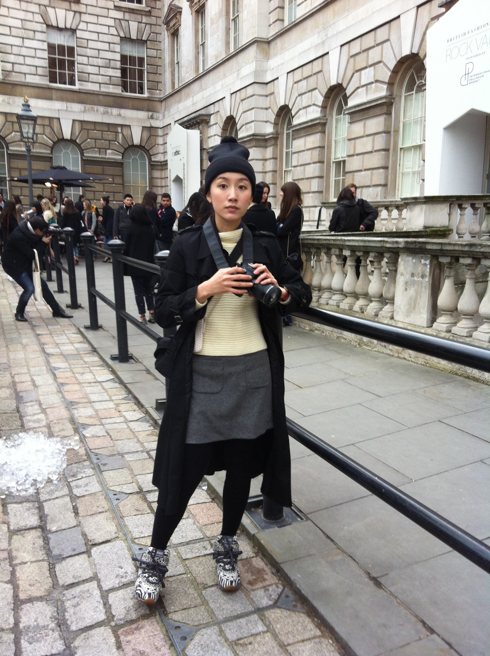 Streetstyle - London Fashion Week AW13 - Day 2
