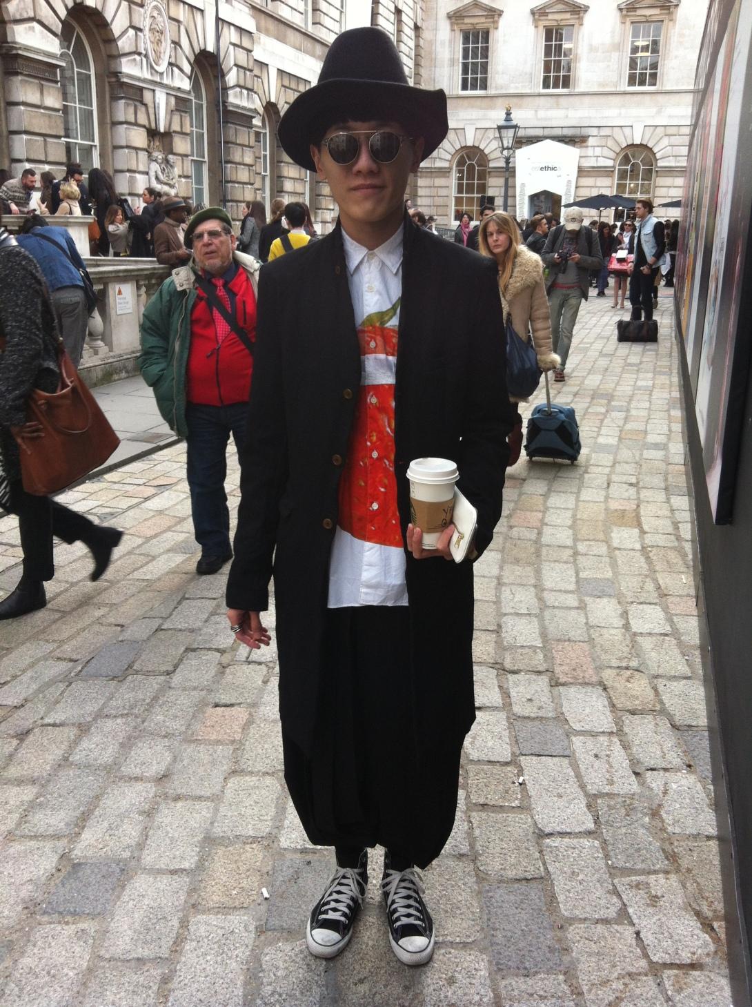 Streetstyle - London Fashion Week AW13 - Day 2