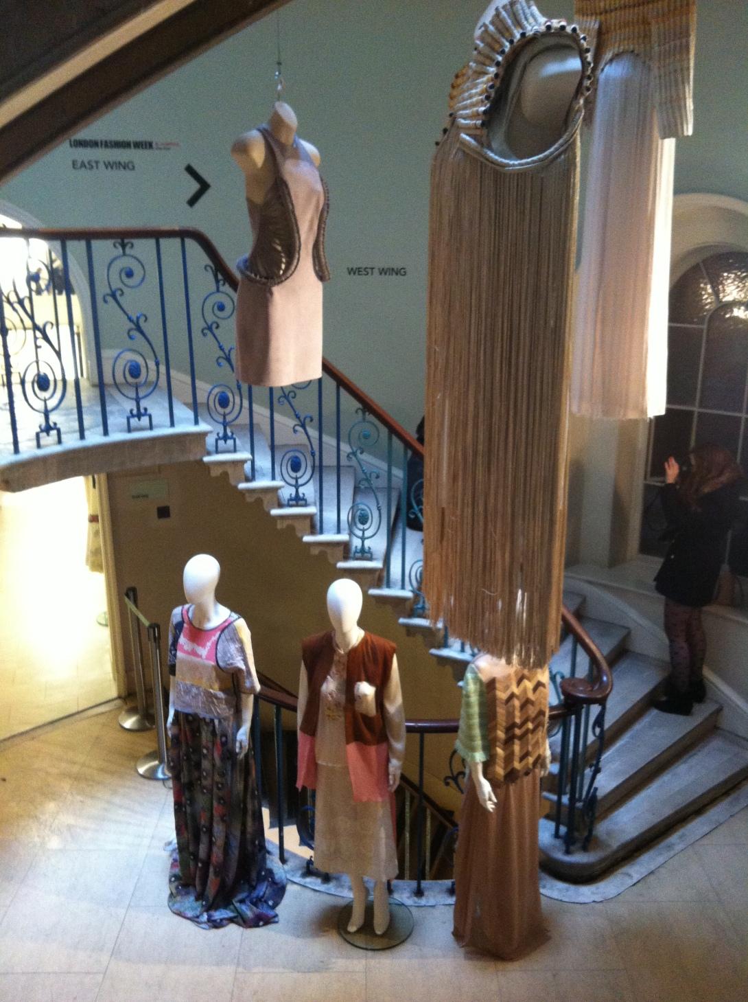 Scandinavian expositions at London Fashion Week AW13