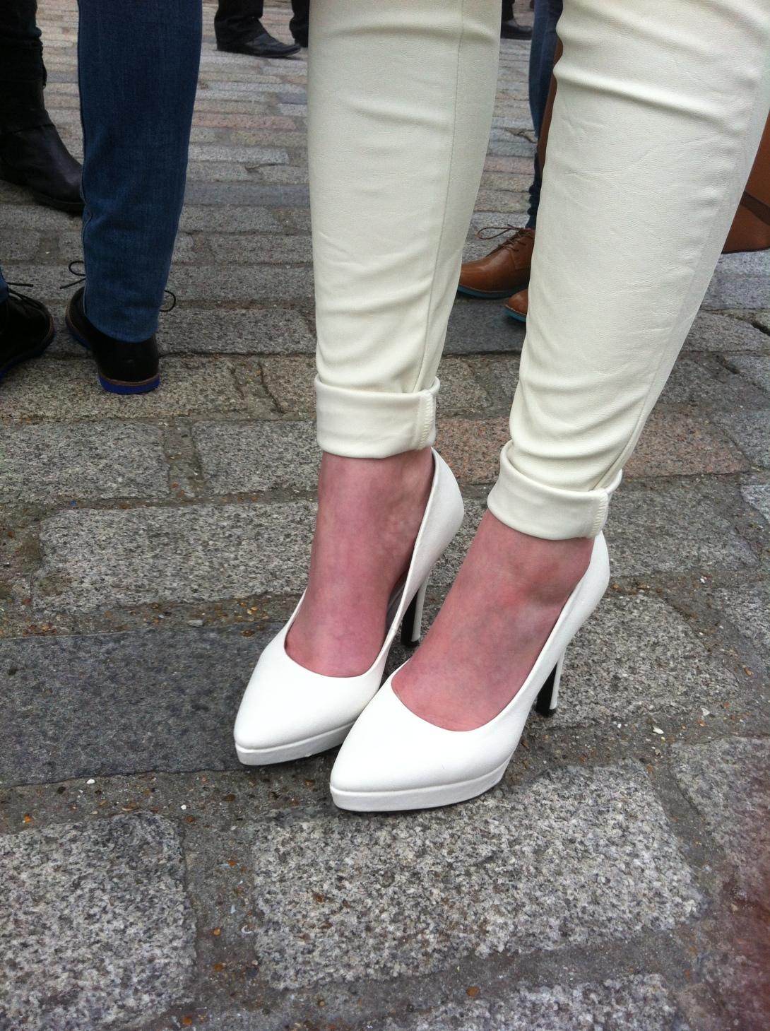 Streetstyle at London Fashion Week AW13