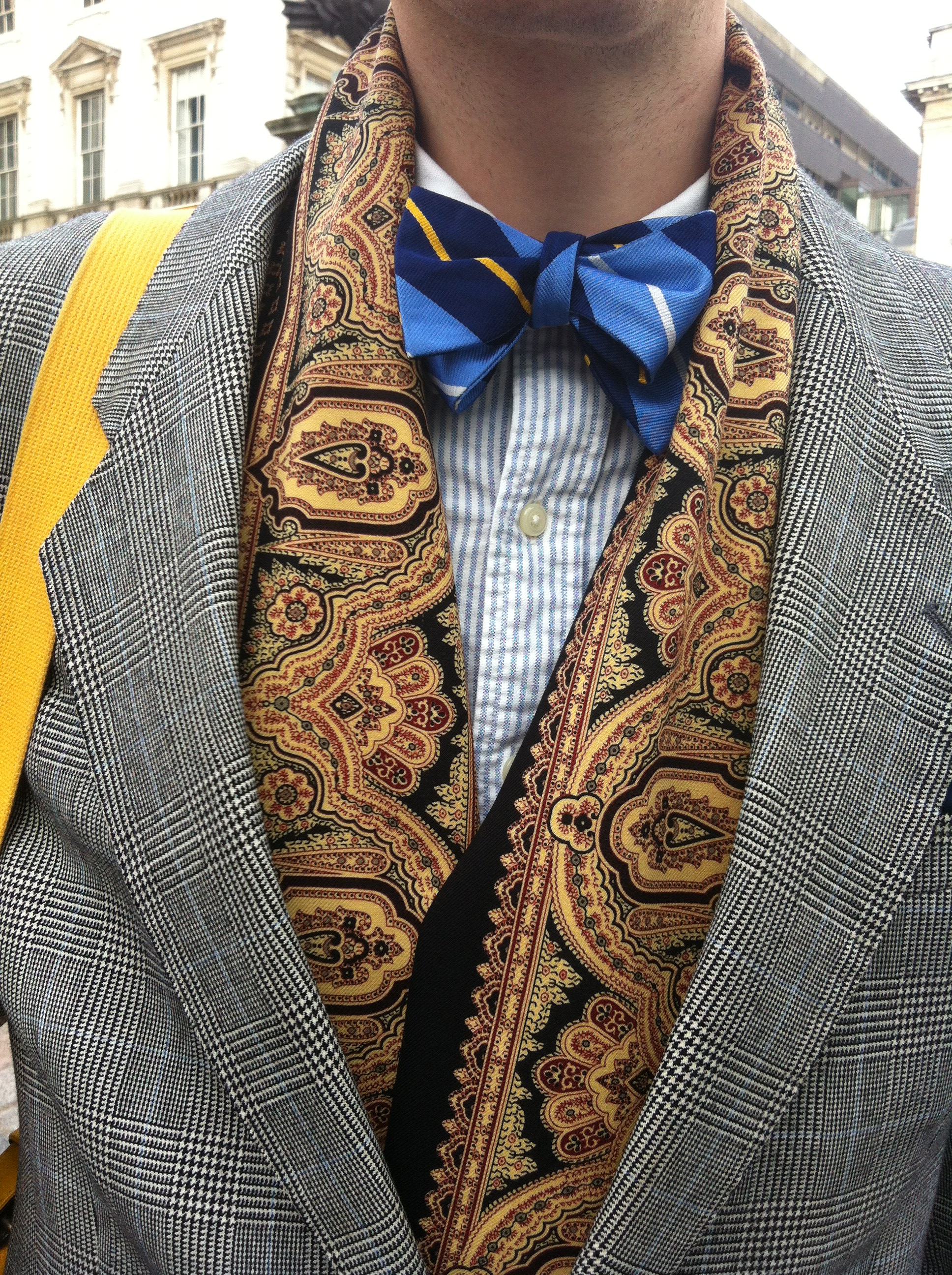 Streetstyle at London Fashion Week AW13