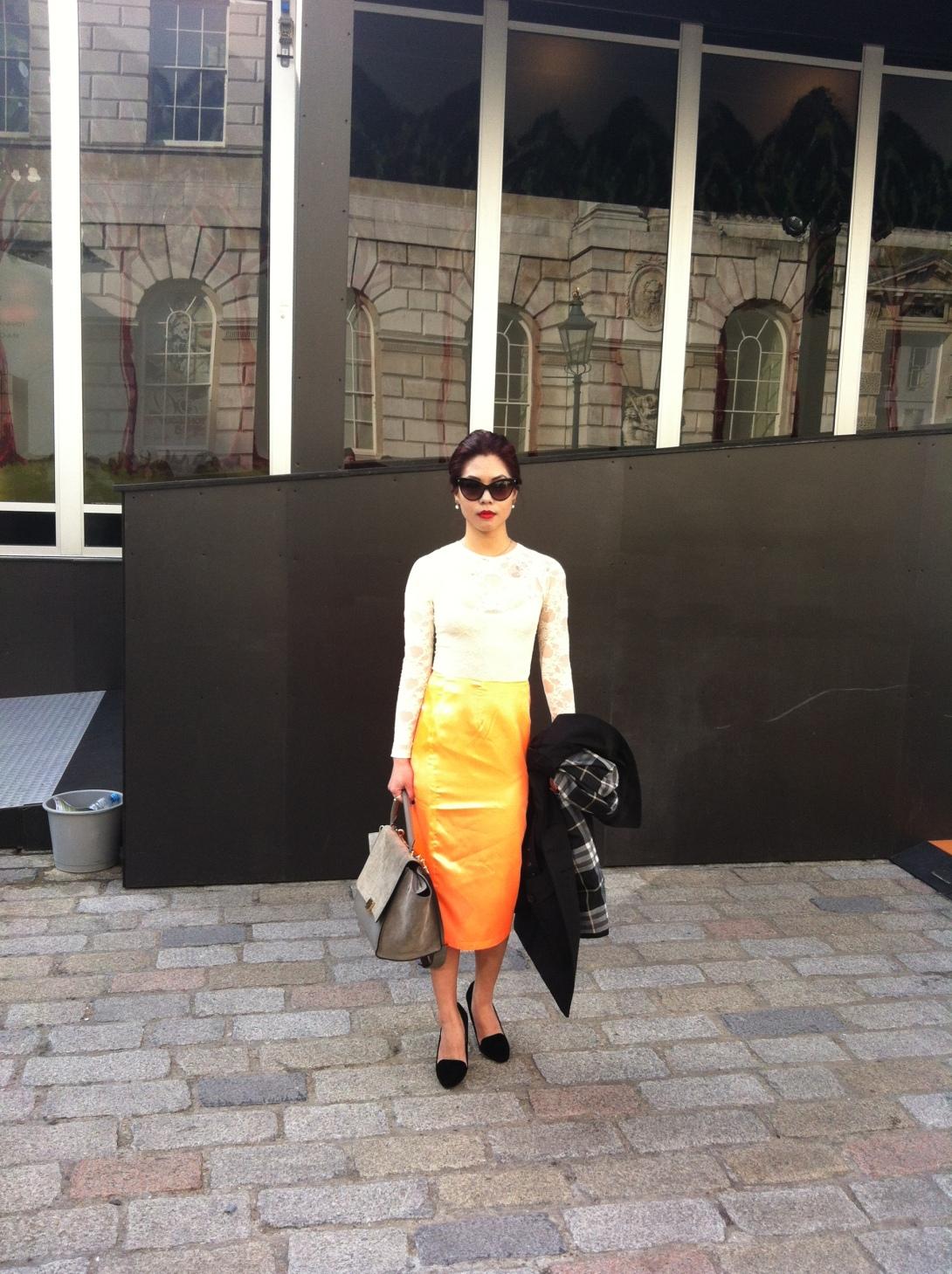 Fashionista - Streetstyle at London Fashion Week AW13