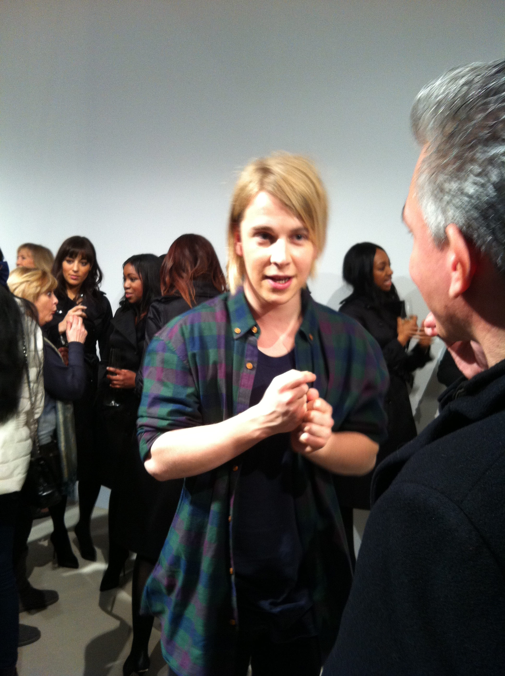 Tom Odell - After Burberry Prorsum AW Catwalk Show