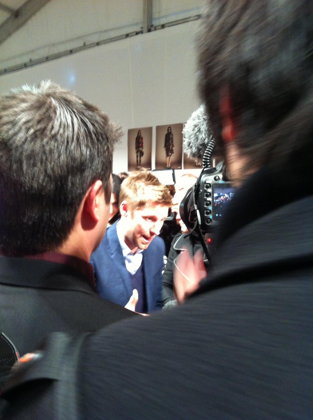 Christopher Bailey - After Burberry Prorsum AW Catwalk Show