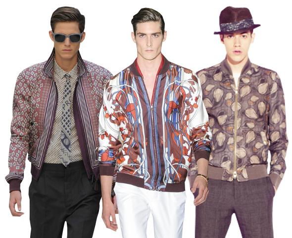 Trend Report Men Bomber Jacket