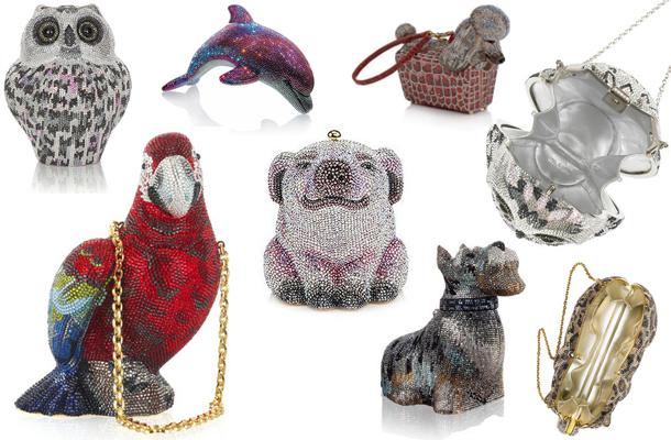 Animal clunches / Bolsos con forma animal