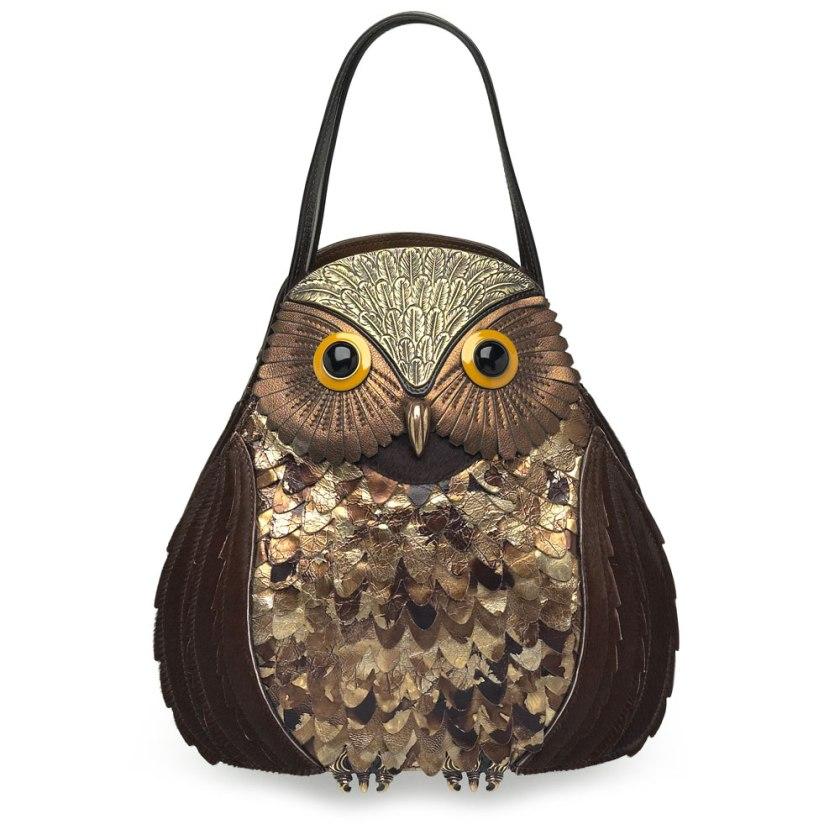 Owl bag / Bolso con forma de búho