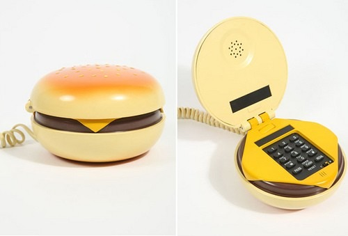 Burger phone / Teléfono con forma de hamburguesa