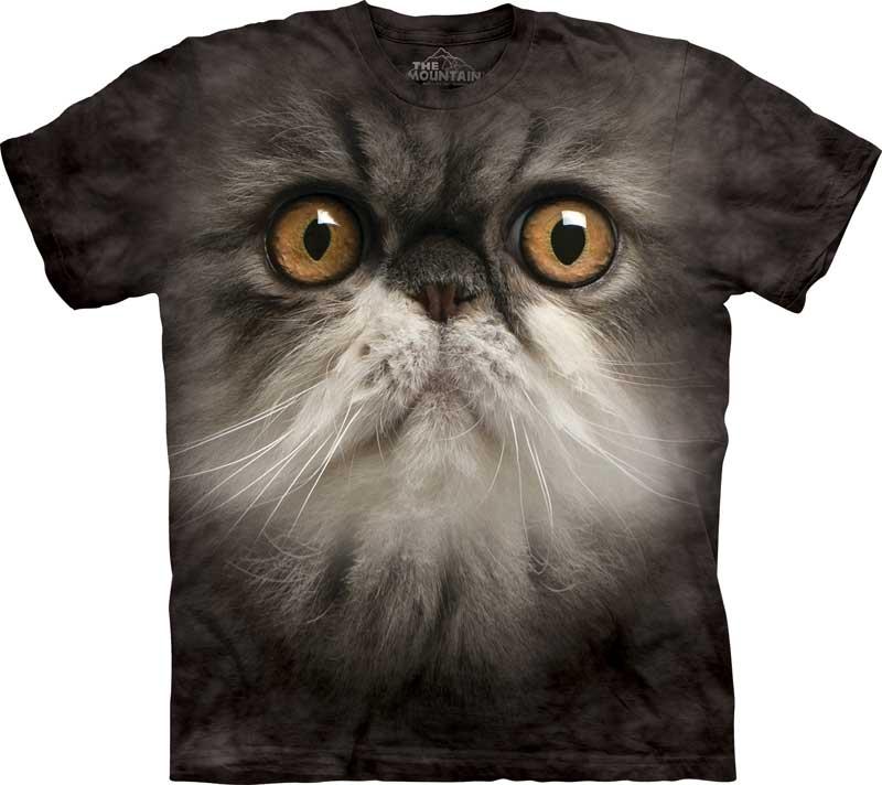 Cat T-shirt / Camiseta con estampado de gato