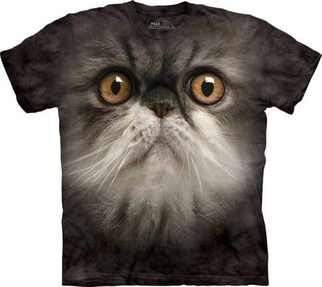 Cat T-shirt / Camiseta con estampado de gato