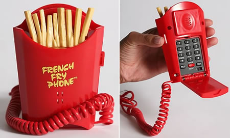 Frites phone / Teléfono con forma de patatas fritas