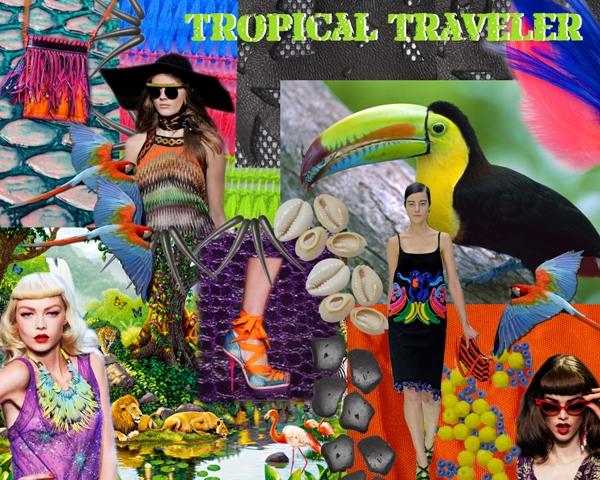 Tropical Safari trend for S/S13 - Tendencia Safari Tropical para P/V13