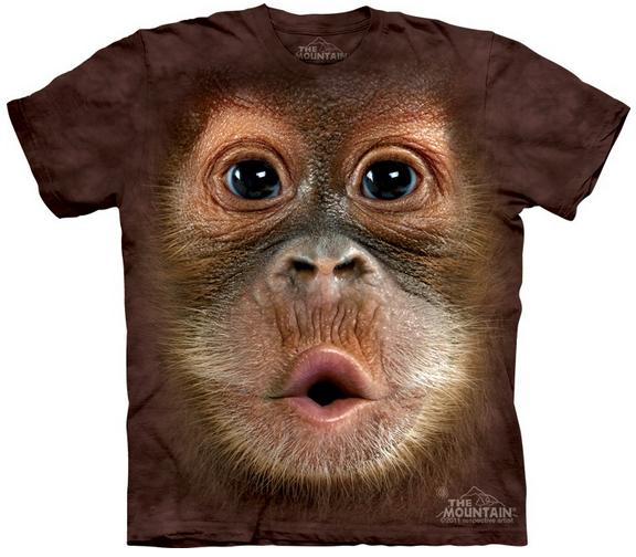 Monkey T-shirt / Camiseta con estampado orangután