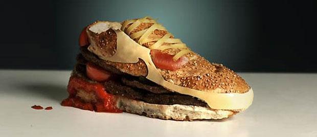 Nike hamburger / Hamburguesa con forma de bambas Nike