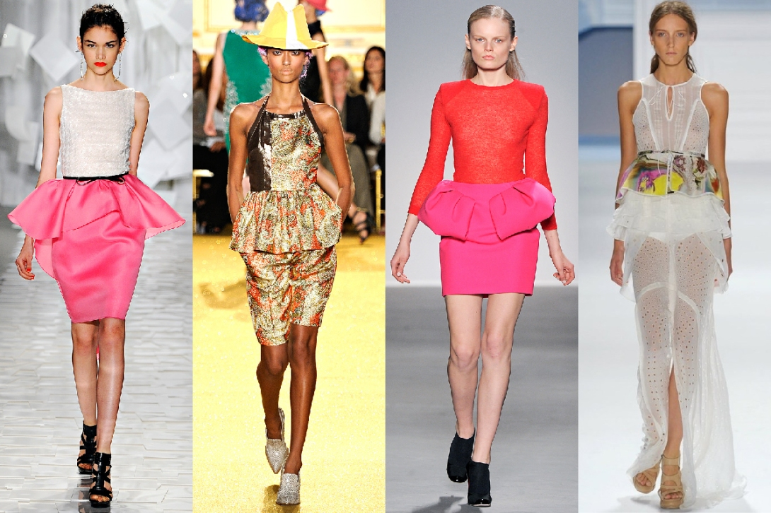 S/S 2013 is all about color and Peplum!