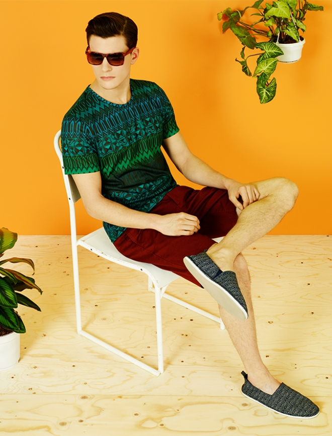 Topical Safari trend also for Man for S/S13 / Tendencia Safari Tropical también para Hombre para P/V13