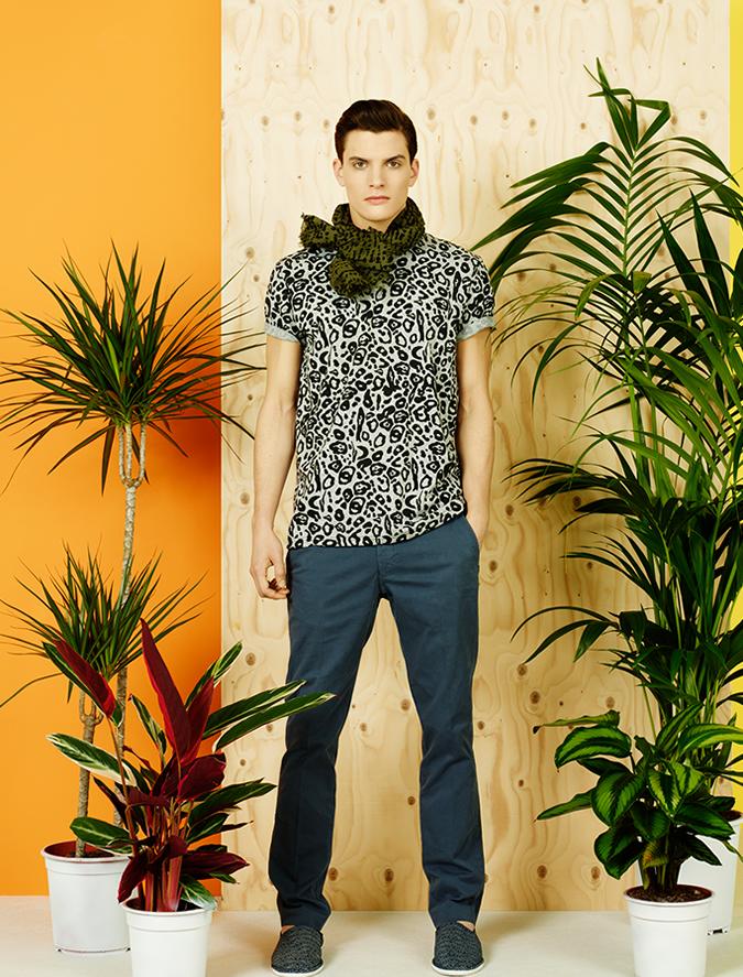 Topical Safari trend also for Man for S/S13 / Tendencia Safari Tropical también para Hombre para P/V13