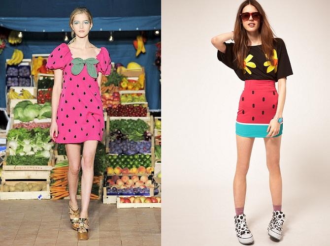 Watermelon clothes / Ropa con estampado de sandía