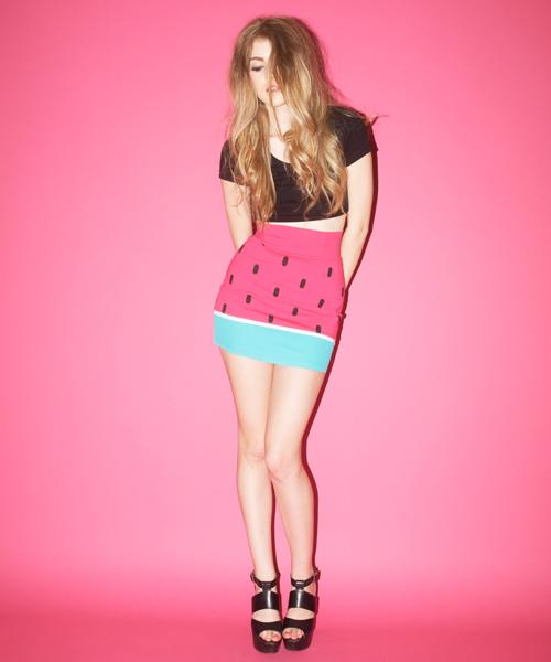 Watermelon skirt / Falda con forma de sandía