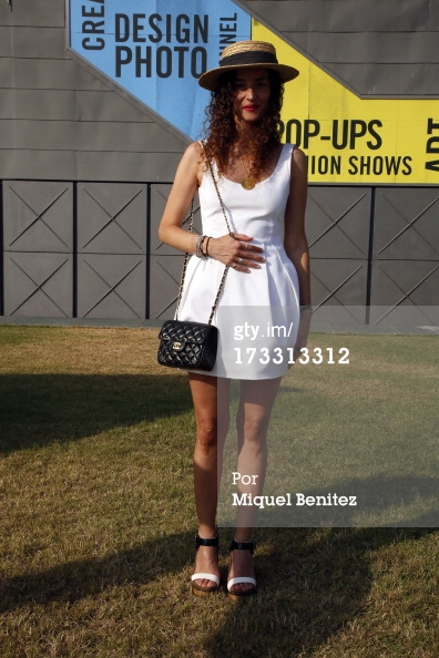 muymia at 080 Barcelona Fashion shot by Getty Images