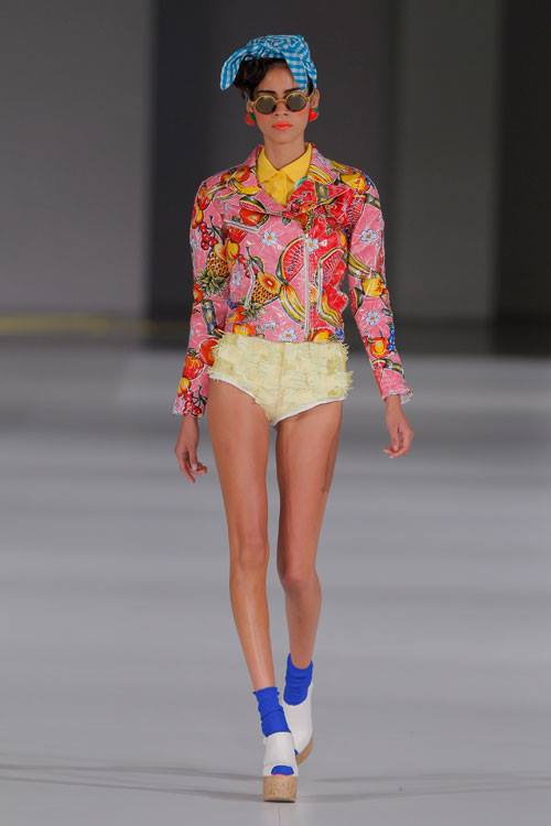 Krizia Robustella SS14 - 080 Barcelona Fashion