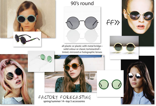Rounded glasses for 2014