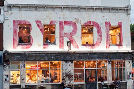 Byron, London