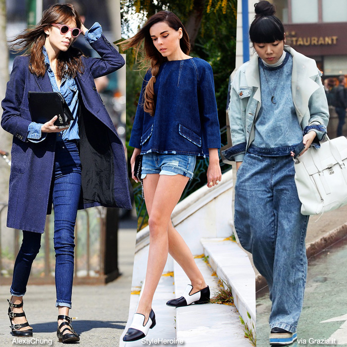 It Girls on denim
