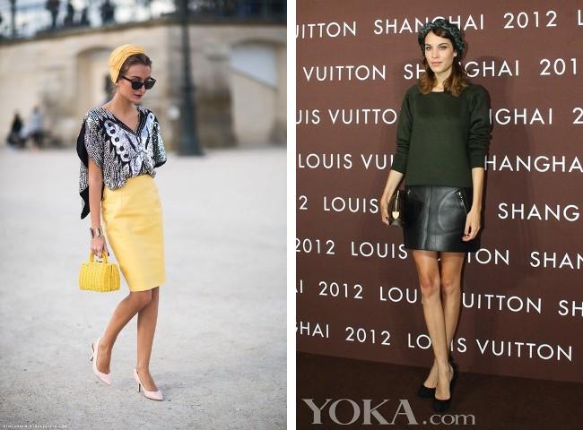 Streetstyle turbant. Alexia Chung follow this trend already!