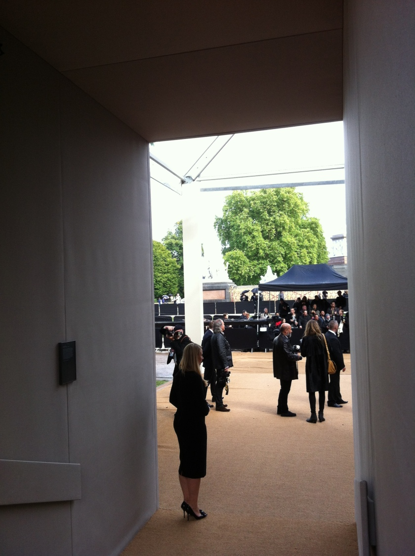 Burberry Prorsum SS14 Catwalk Show in Kensignton Gardens