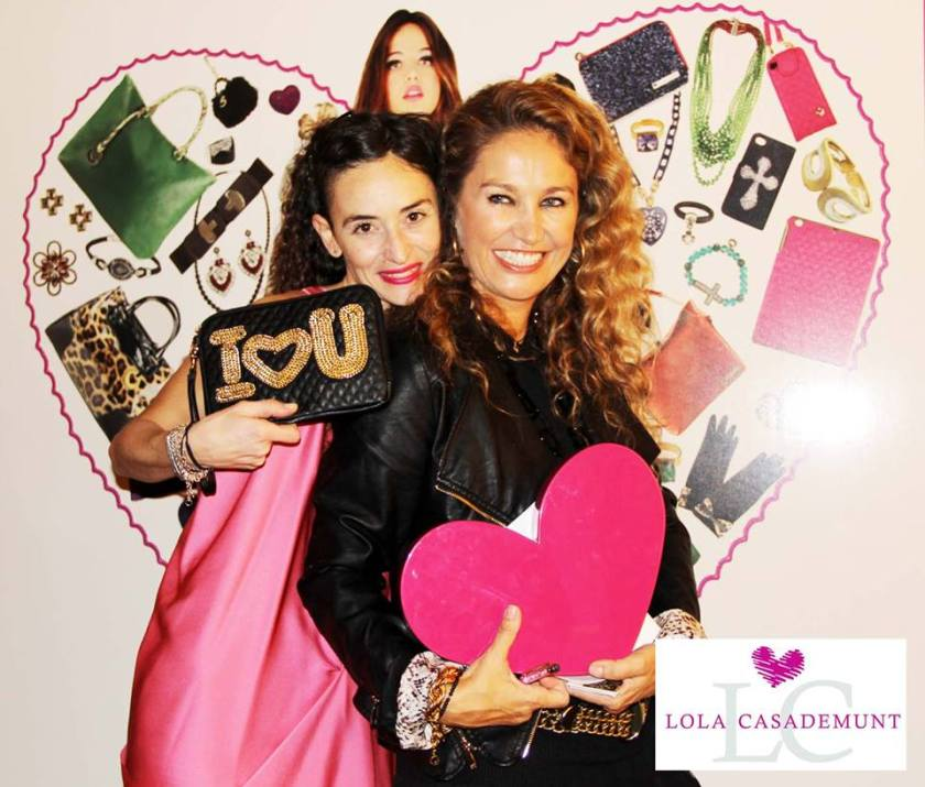 Clara De Nadal Trias aka muymia at Lola Casademunt stand in Fashion and Bloggers date by S Moda