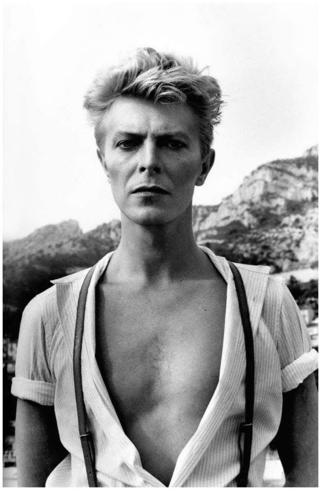 David Bowie by Helmut Newton 1983