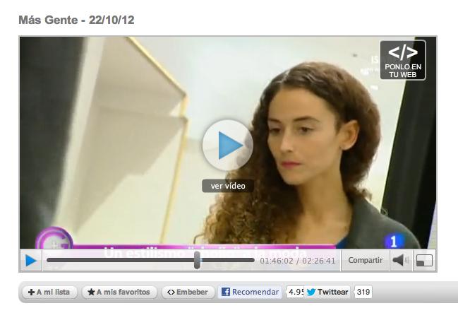 TVE, +Gente, Spanish Television