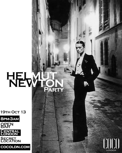 Helmut Newton party by Coco London
