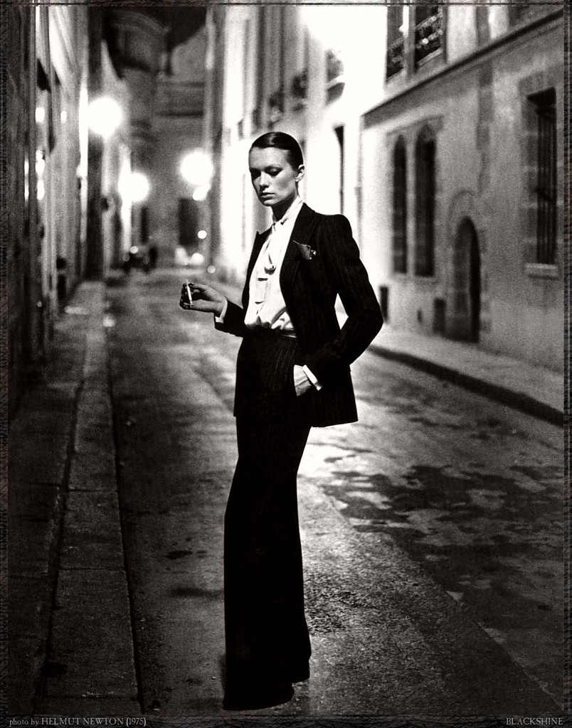 Original Photo by Helmut Newton