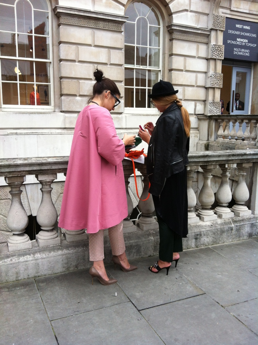 LFW SS14, Streetstyle Day3