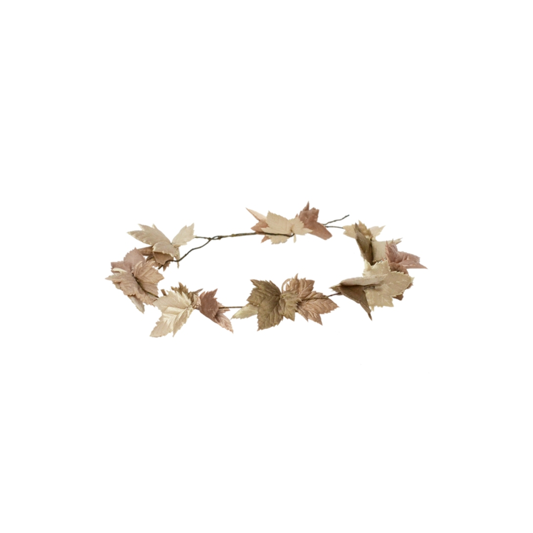 Autumn Leaves Crown Headband £130 by Eliurpi