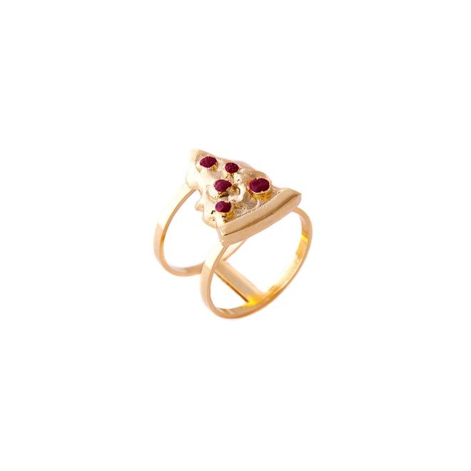The Pizza Ring €45 by Glenda Lopez