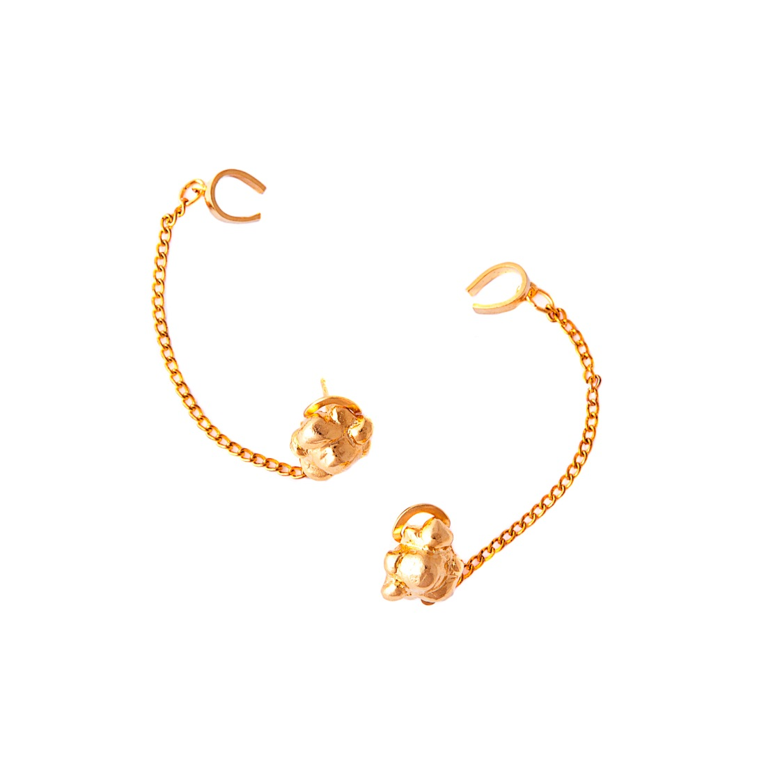 The Popcorn Earrings €53.50 by Glenda Lopez