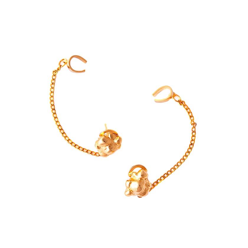 The Popcorn Earrings €53.50 by Glenda Lopez