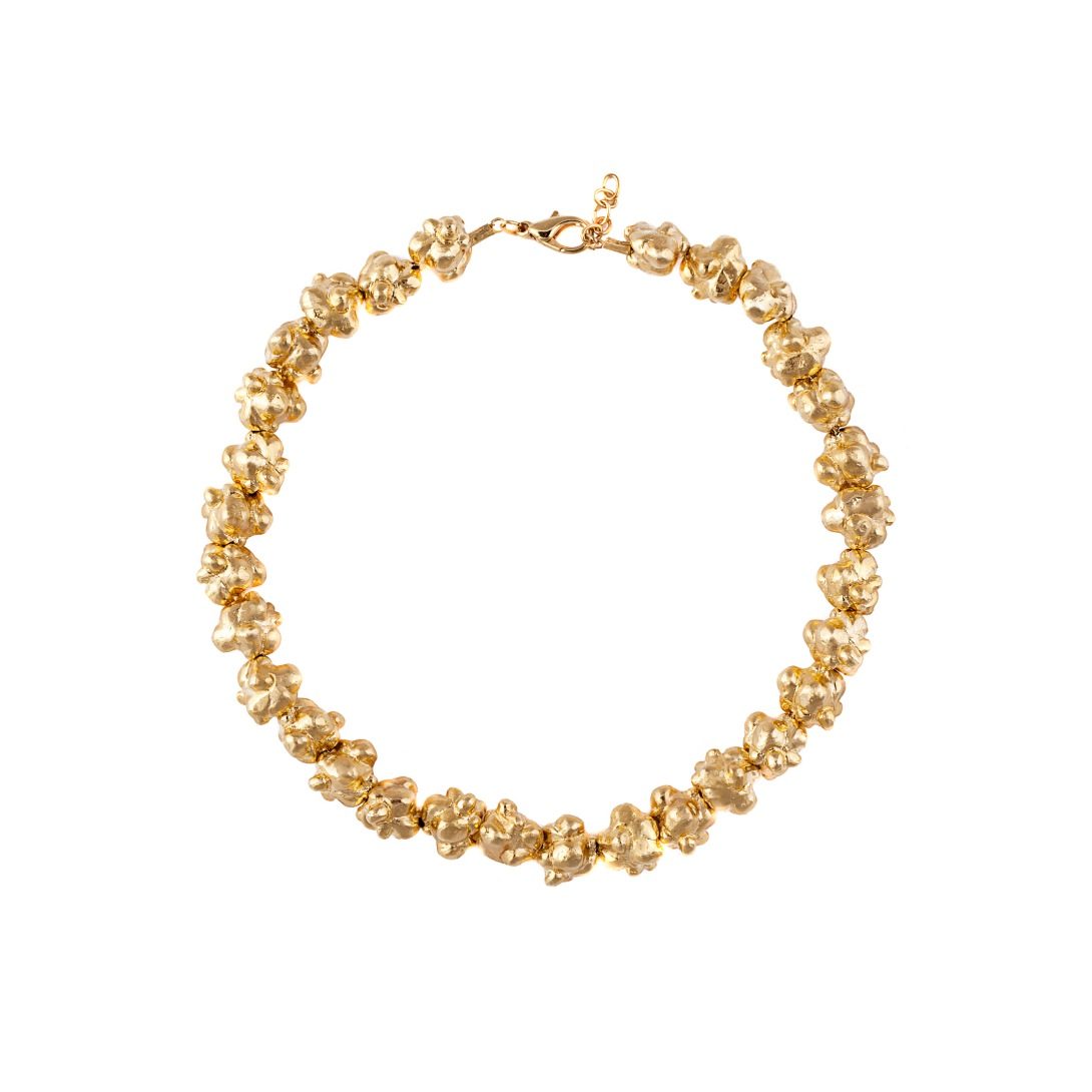 The Popcorn Necklace €150 by Glenda Lopez