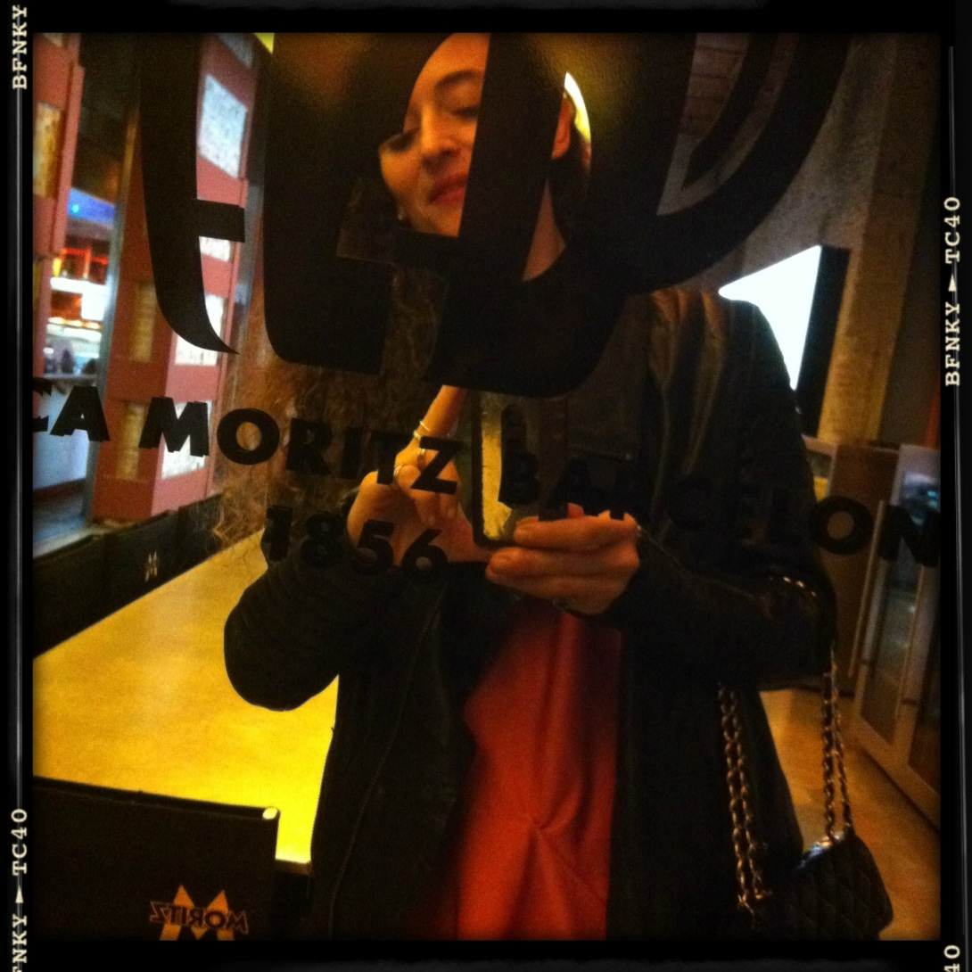 Clara De Nadal trias en el Fashion & Bloggers date by S Moda