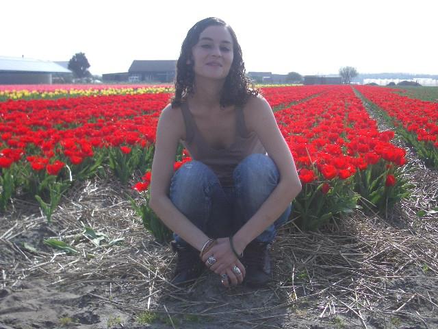muymia at/en Keukenhof gardens, 2007.