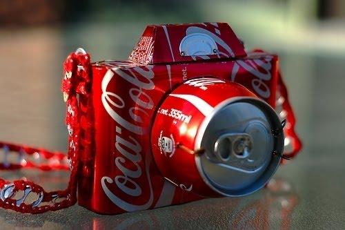 Camera made with Coca Coca